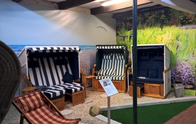 Strandkorb in Ahrensburg direkt vor Ort oder online kaufen - Strandkorb in Ahrensburg kaufen