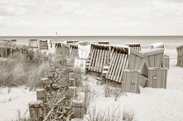 Die Geschichte über die Erfindung der Strandkörbe - Die Geschichte über die Erfindung der Strandkörbe